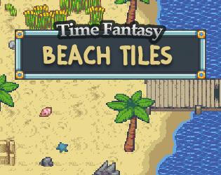 Beach Tileset by finalbossblues
