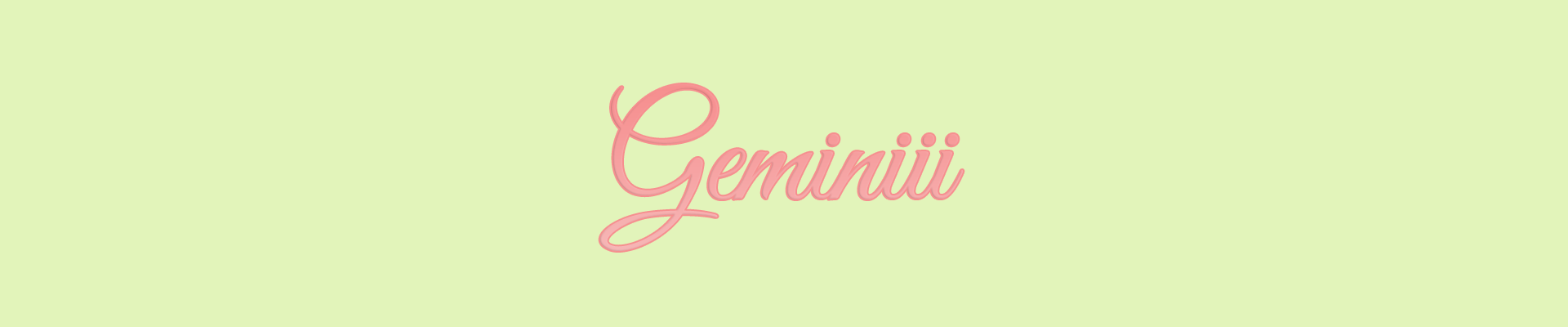 Geminiii