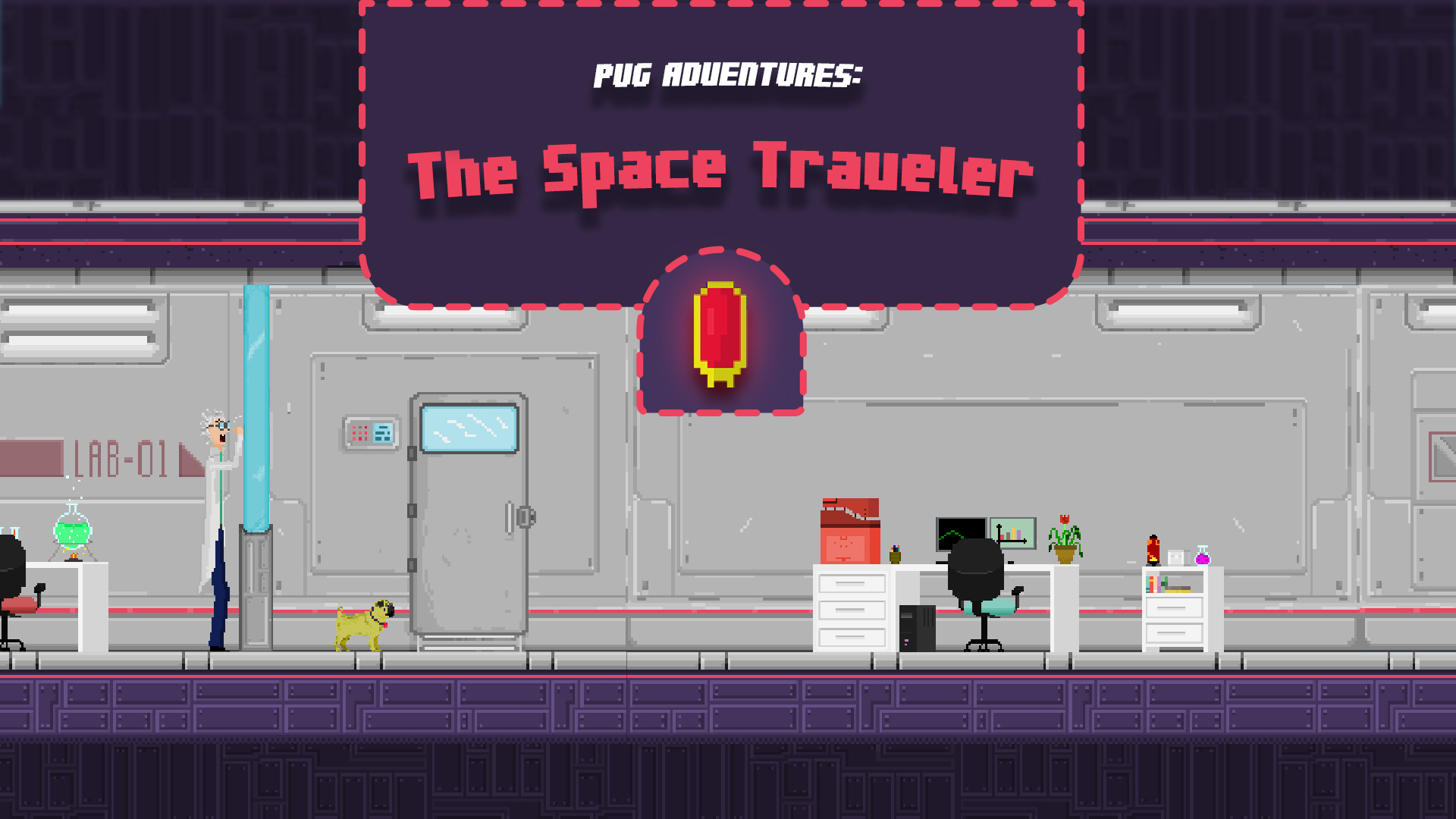 Pug Adventures - The Space Traveler
