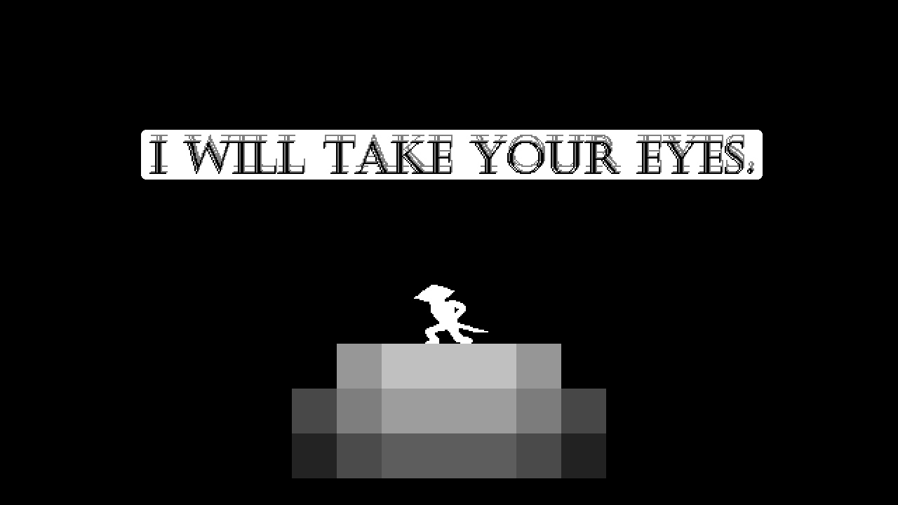 I Will Take Your Eyes