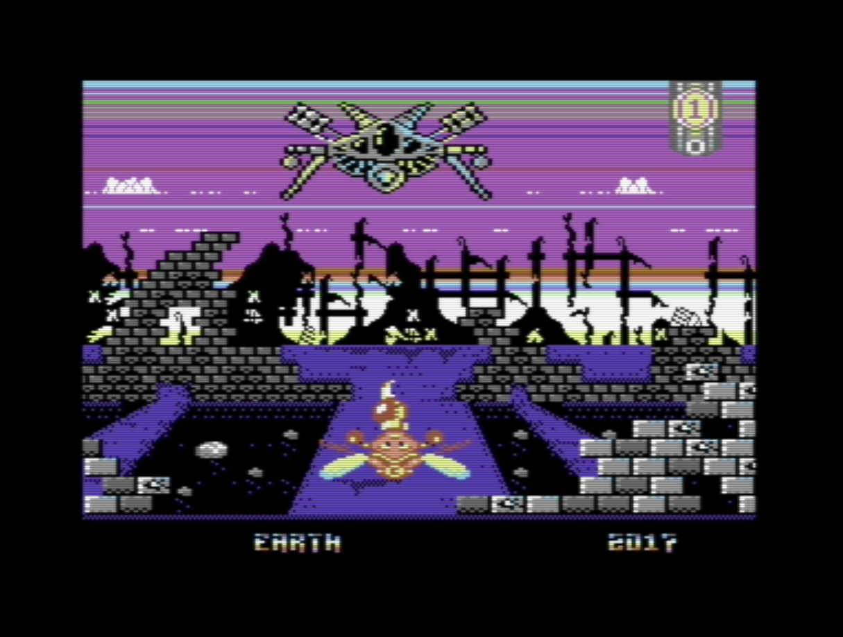 Galencia for the C64 by Jason Aldred