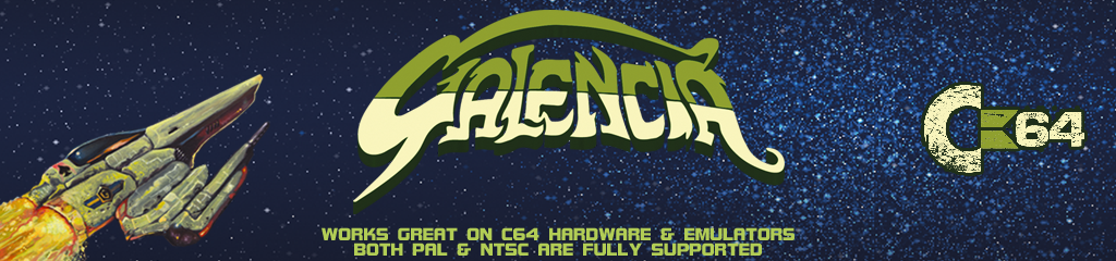 Galencia for the C64