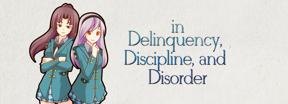 in Delinquency, Discipline, and Disorder