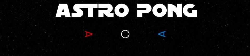 Astro Pong