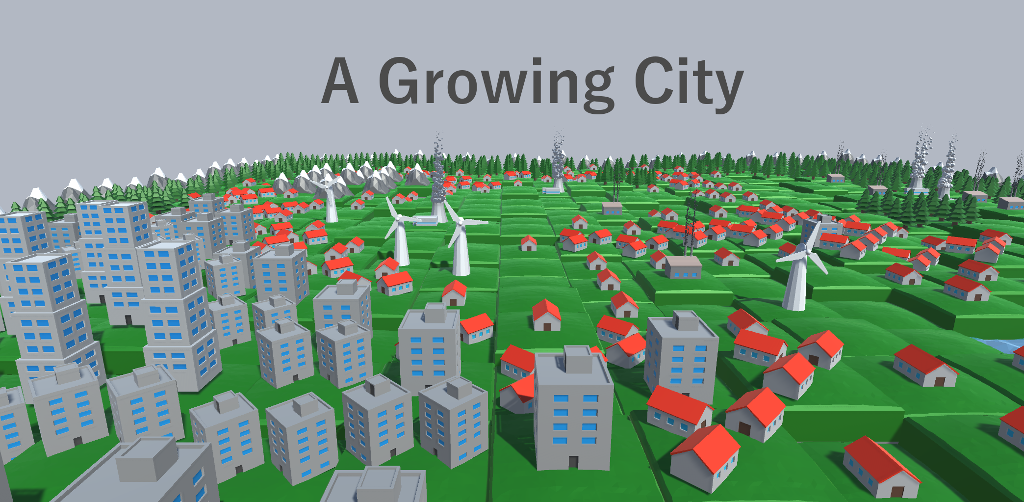 A Growing City
