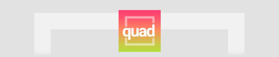 quad - minimalist puzzle