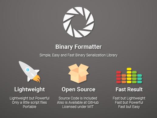 BinaryFormatter - Complete Binary Serialization Library