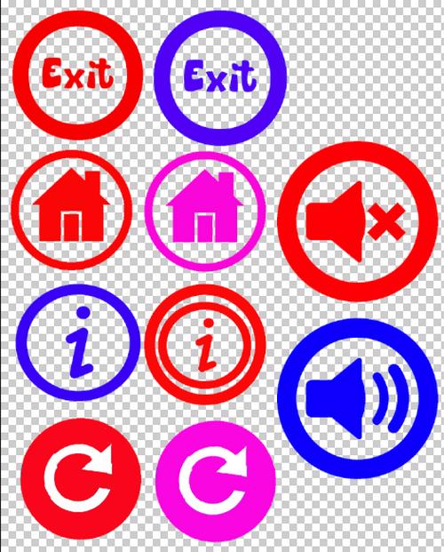 buttons for your game - Buttons for your game by MrPoker