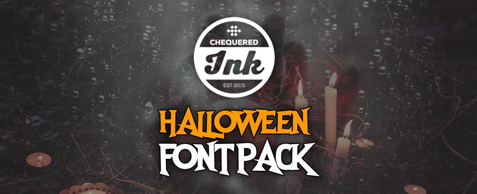 Halloween Font Pack