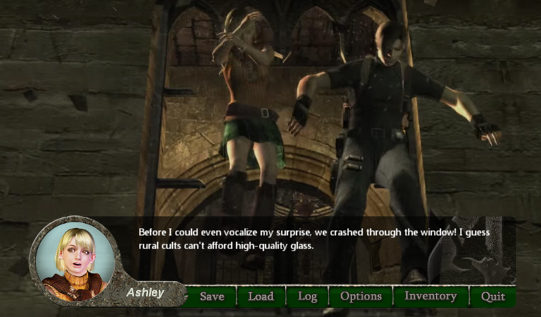 RE4: Otome Edition Demo Back On Itch - RE4: Otome Edition (Demo Ver
