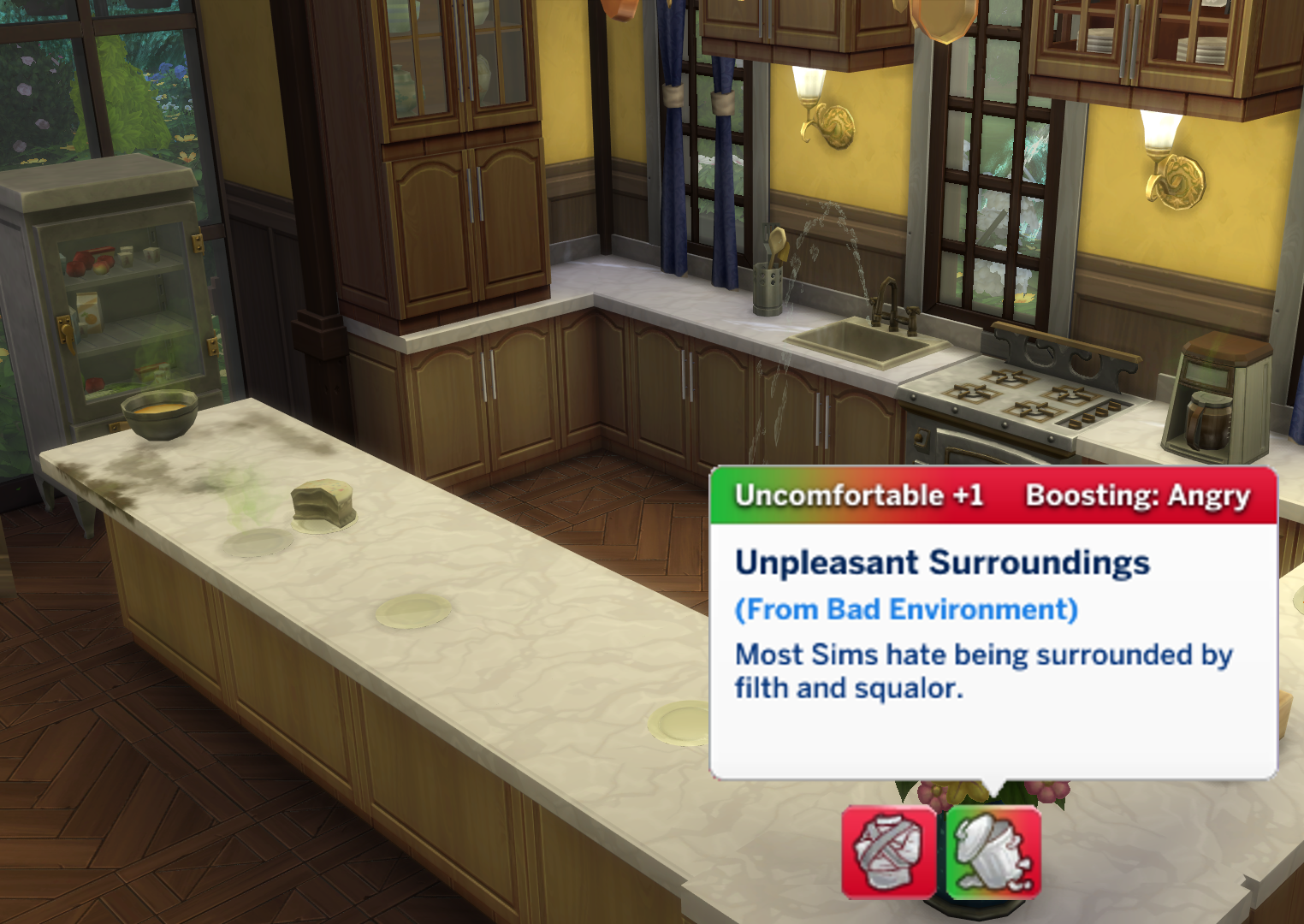 Uncomfortable Overhaul for The Sims 4 by roBurky