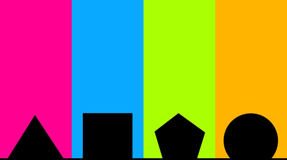 TriangleSquarePentagonCircle