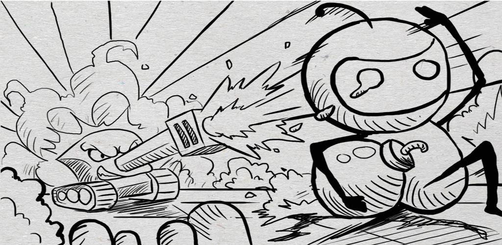 Classic Tank vs Bomberman