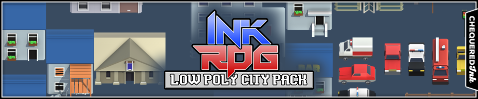 InkRPG Low Poly City Pack