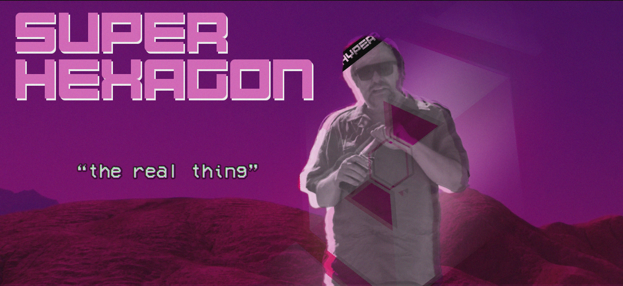 Super Hexagon is a Simulation of God: an essay (Deluxe Edition)