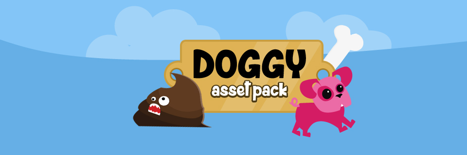 Doggy game assets
