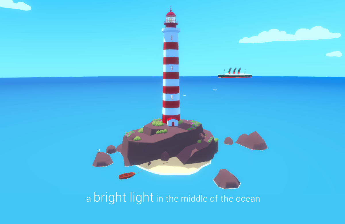 A Bright Light in the Middle of the Ocean