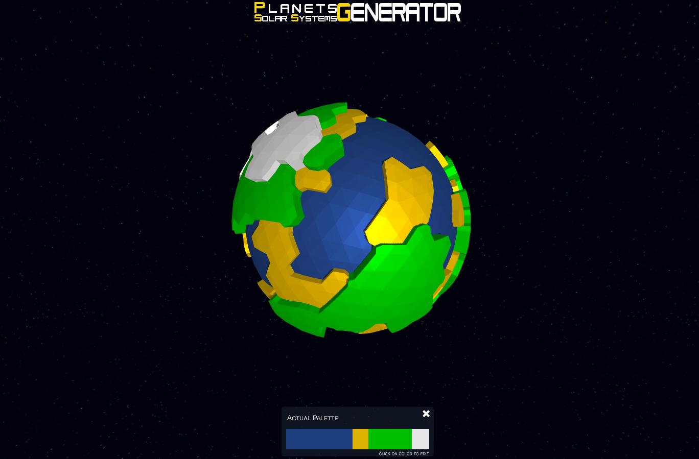 Planets & Solar Systems Generator by Artur Majcher