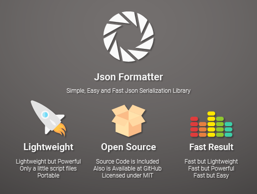 JsonFormatter - Complete Json Serialization Library