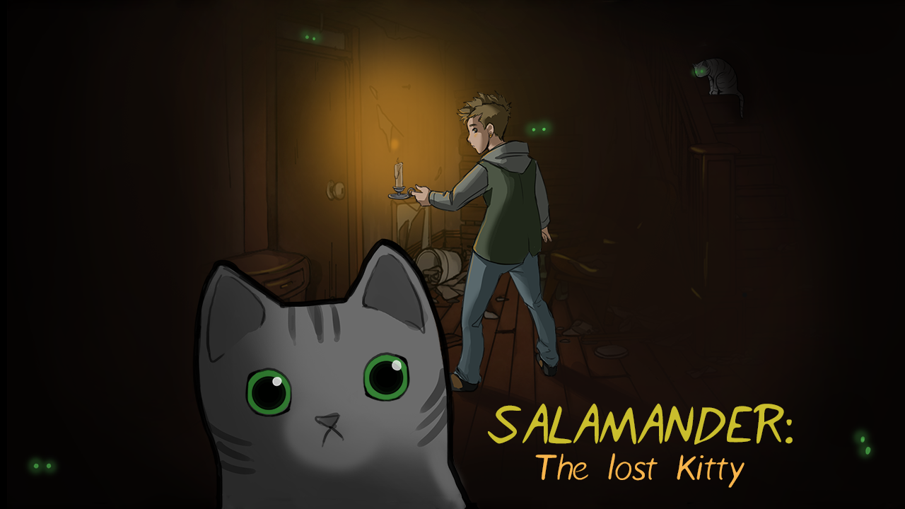 Salamander: The Lost Kitty