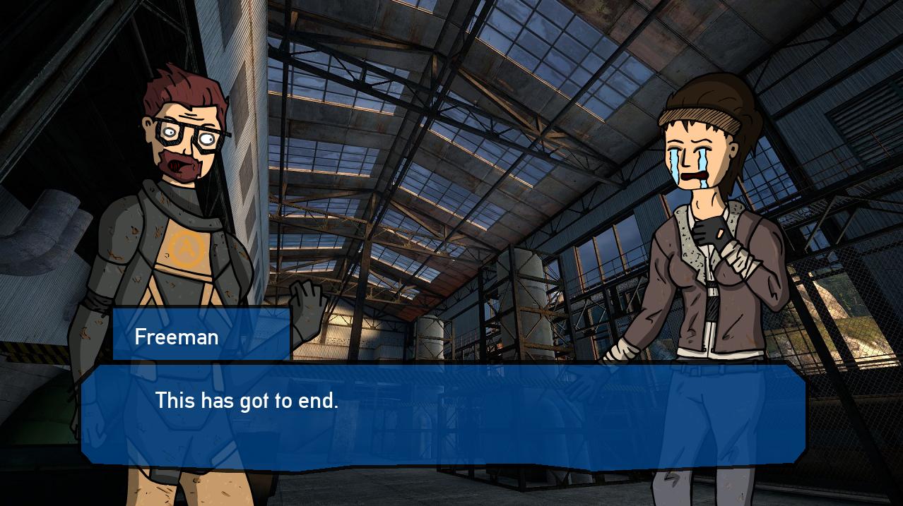 Half Life 2 - Episode 3 - Gordon Freeman : Rational Man by