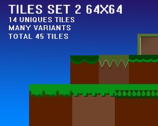 45 tiles, set 2, 64x64