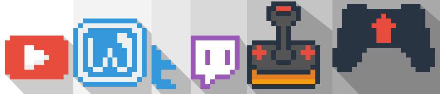 Pixel-Art Logo Assets 6️⃣👍