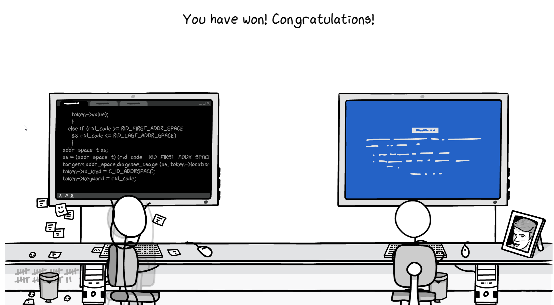It's Compiling! by Querijn Heijmans for xkcd Game Jam - itch io