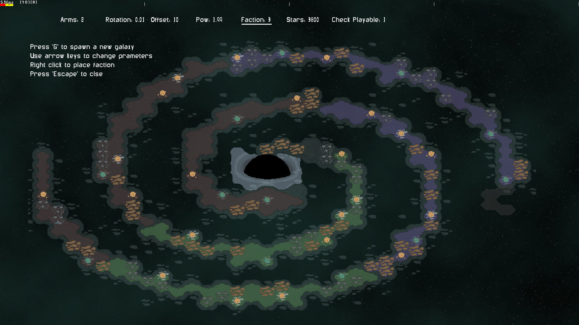 Galaxy Map Generator by nhcarter