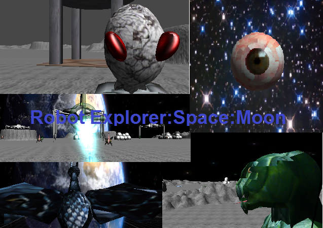 Robot Explorer:Space:Moon