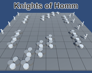 Knights of Homm by Lucas Stark for Game Off 2017 - itch io