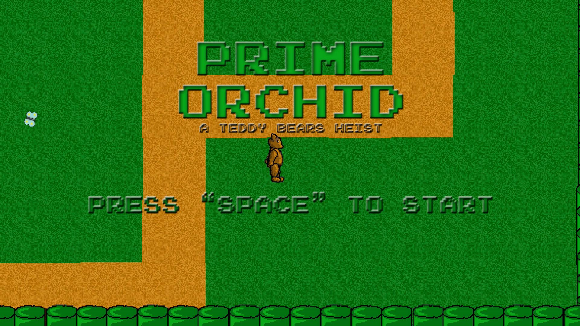 Prime Orchid A teddy bear's Heist