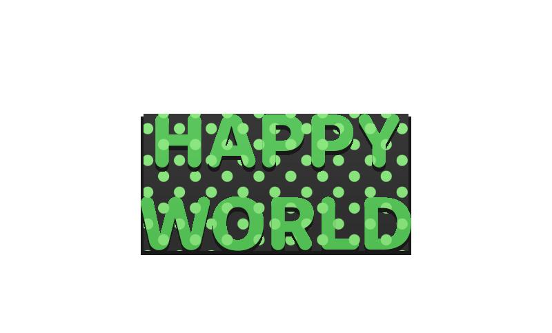 HAPPY WORLD - WORLD 1