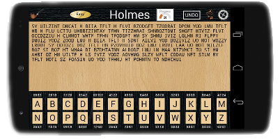 Holmes Free : the cryptic cipher code puzzle game by beacegames