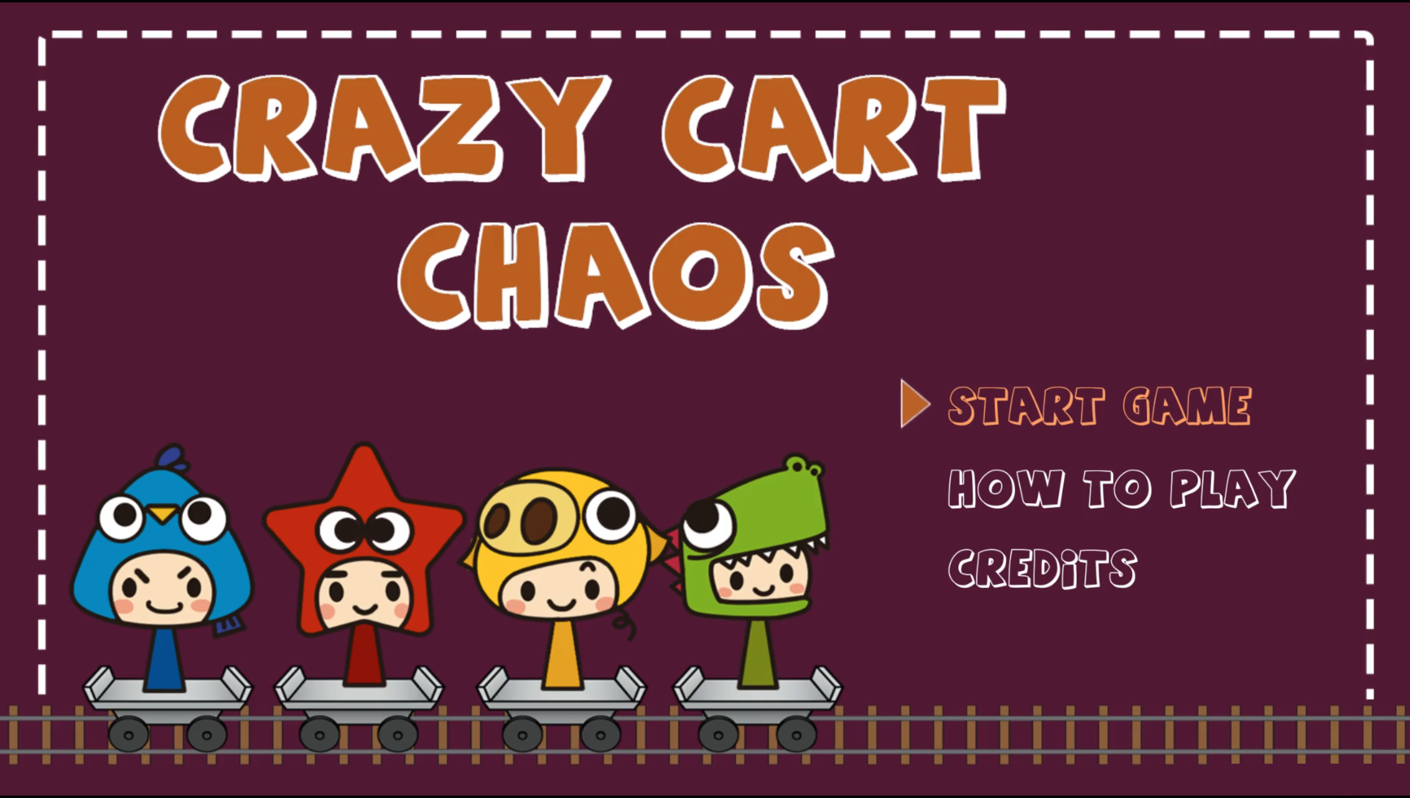 Crazy Cart Chaos