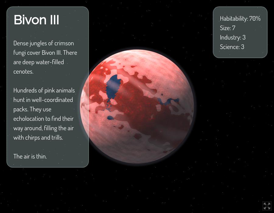 Planet Generator by Zarkonnen