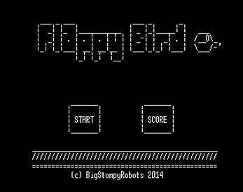 Ascii Bird By Bigstompyrobots