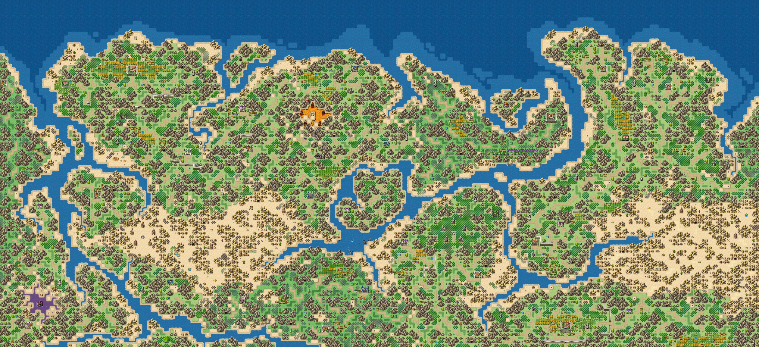 Ysmael - Map Resource for RPG MAKER MV by LadyLuck