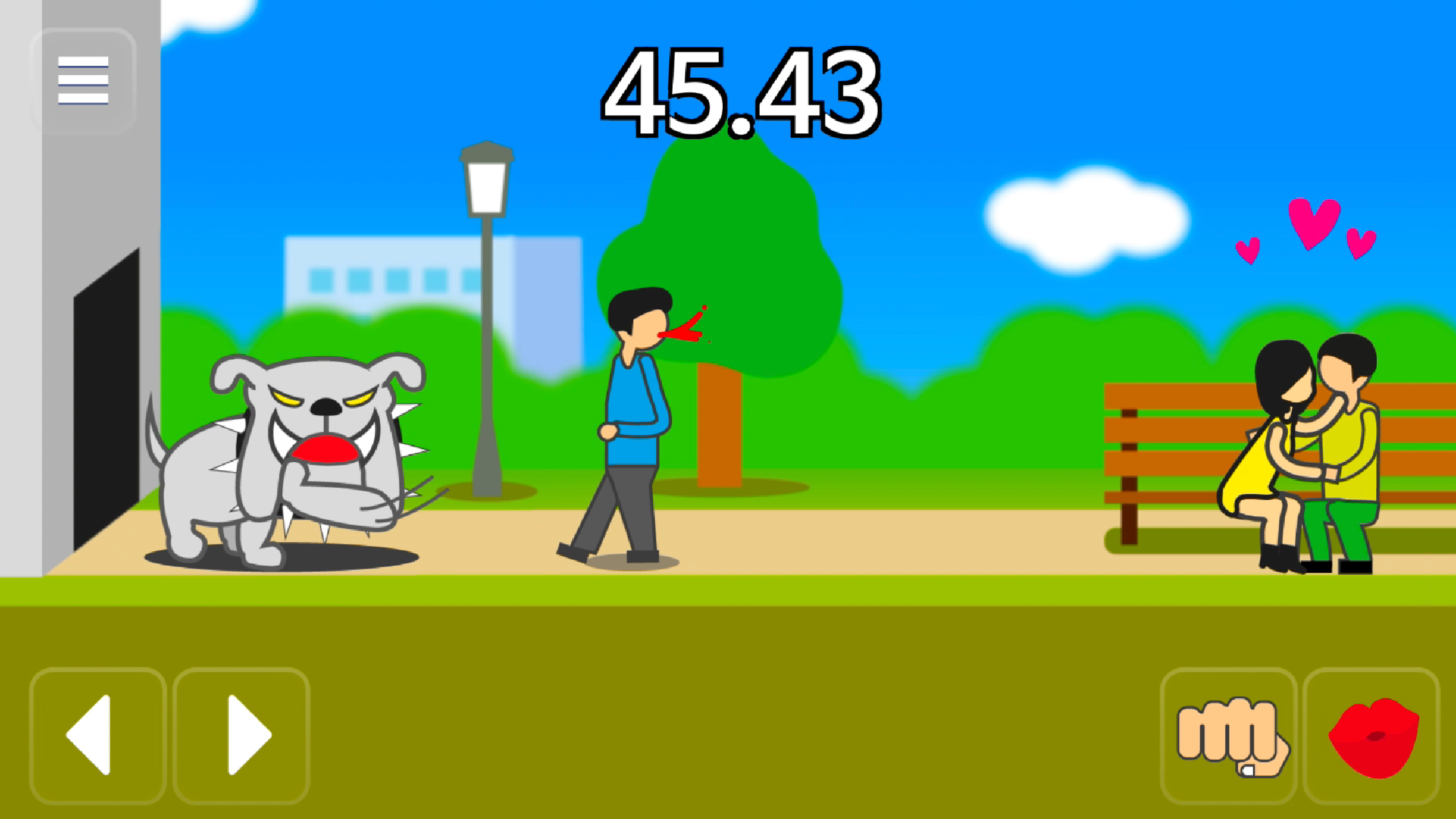 Hello, my game 'Meteor 60 seconds!' has just uploaded.