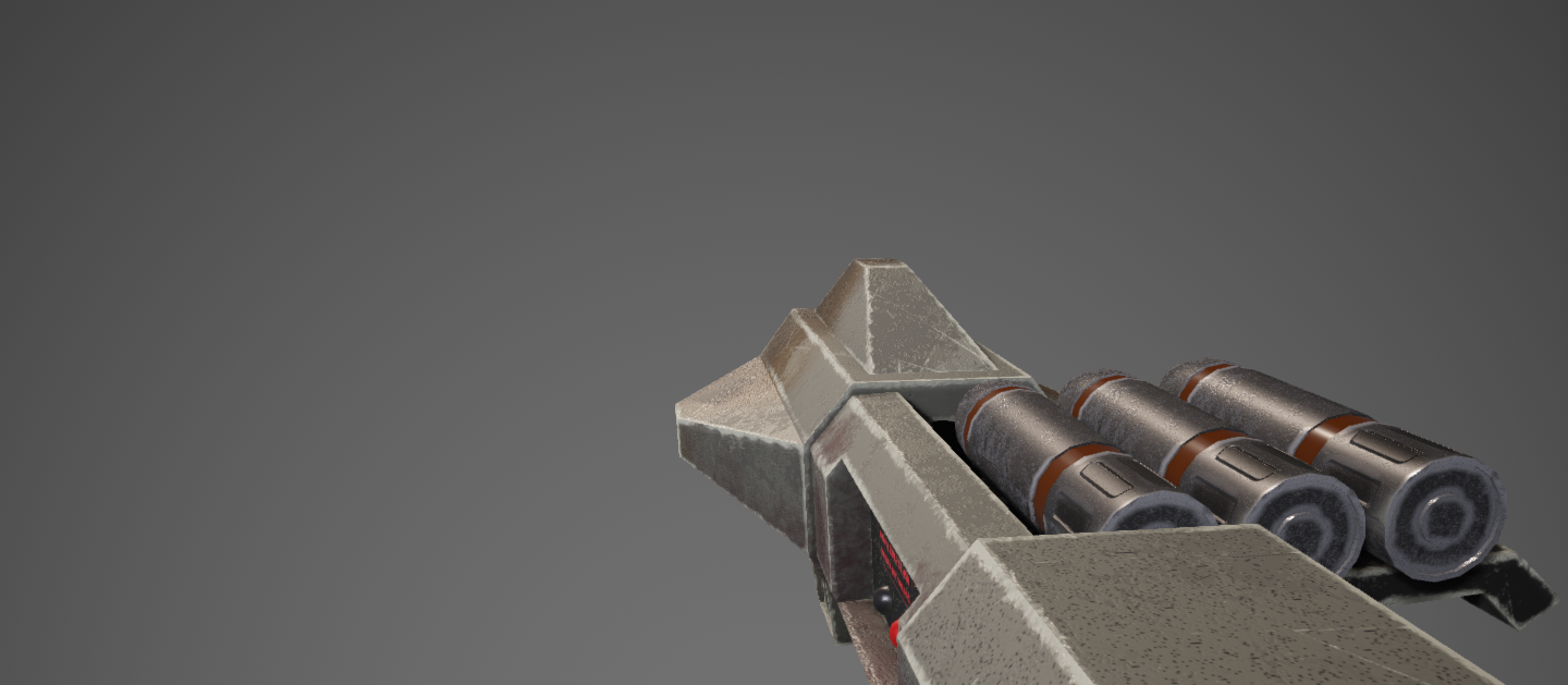 Quake 2 Weapons Remodel by CTPEJIOK22