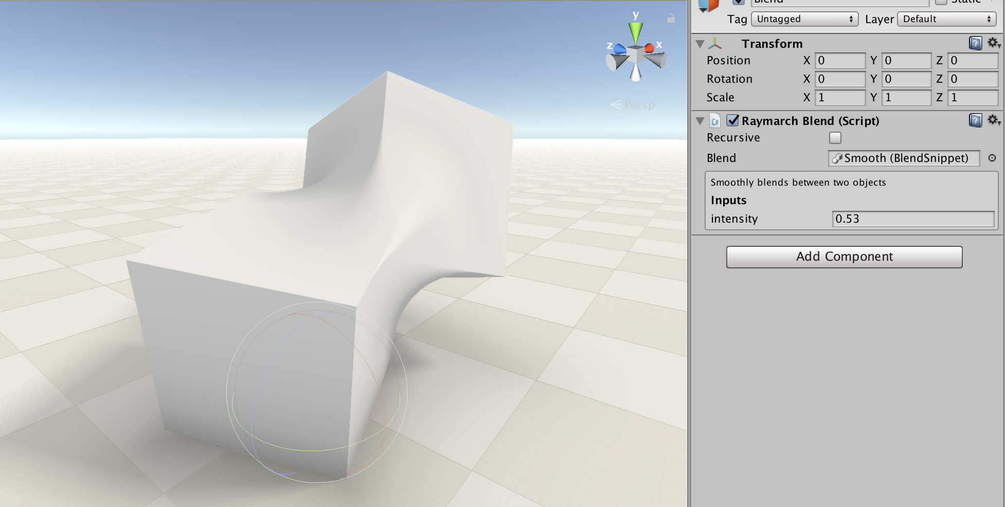 Raymarching Toolkit for Unity by Kevin Watters, Fernando Ramallo
