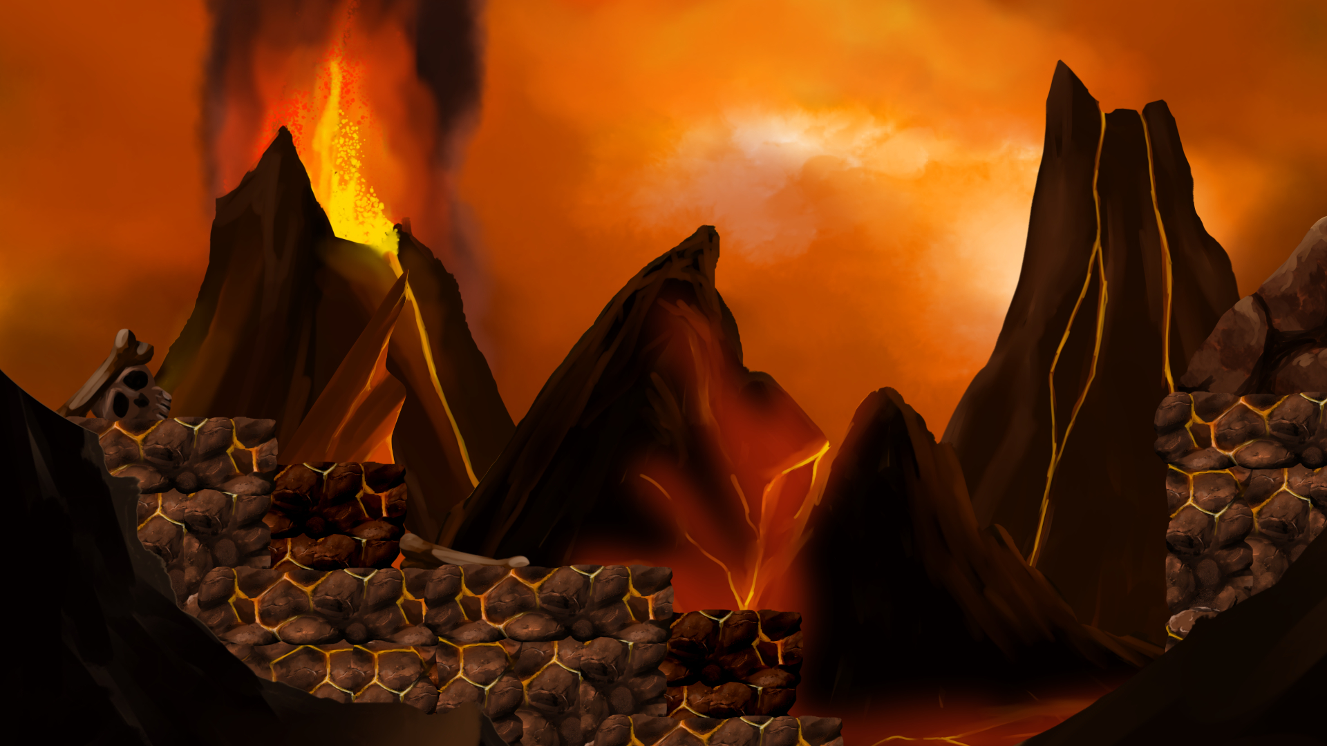 2d Hell Side Scrolling Platformer Pack 2d Hell Side