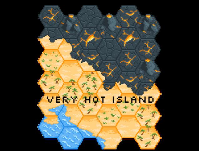 Pixel Hex Tileset By Zeshio