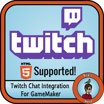 MM's Twitch tv IRC Interface for GameMaker by MaddeMichael