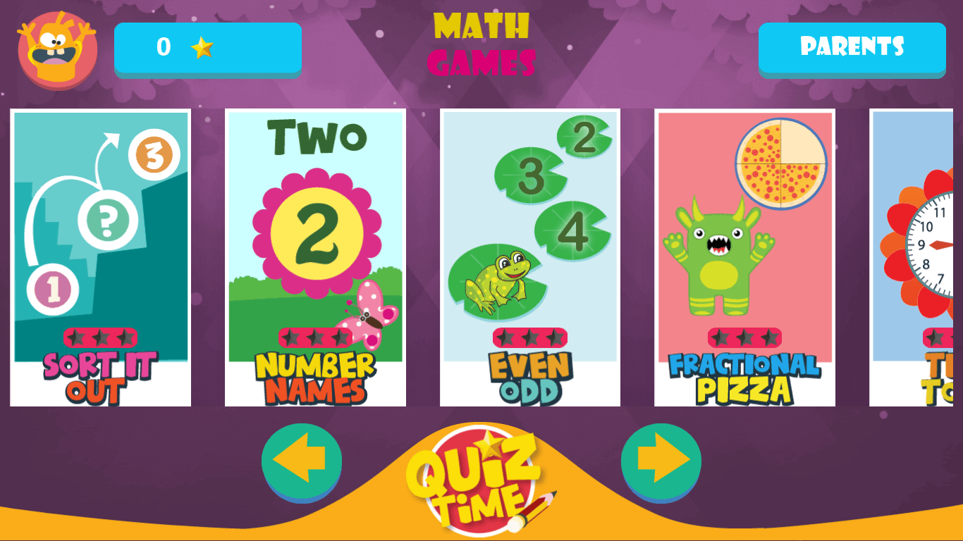 Cool Math Games: Primary Games kids by greysprings