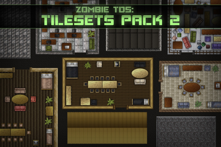 Free Tds Tilesets Buildings And Furniture By Free Game