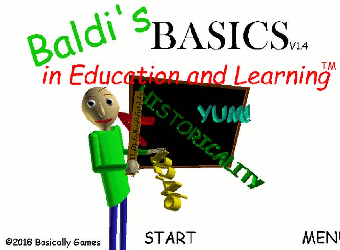 1 3 Update Changelog - Baldi's Basics in Education and