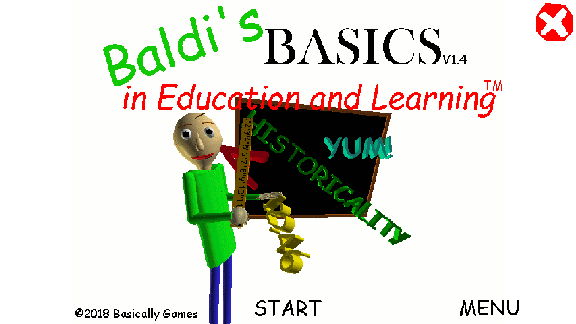 Baldi's Basics in Education and Learning by mystman12 for