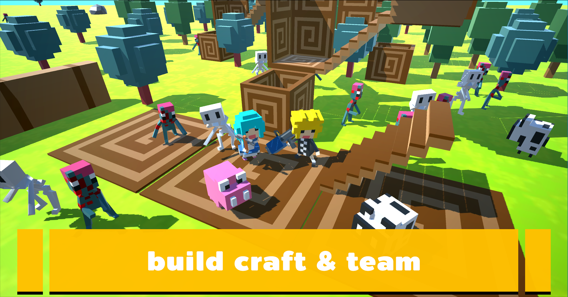 Team Craft Online By Mawika