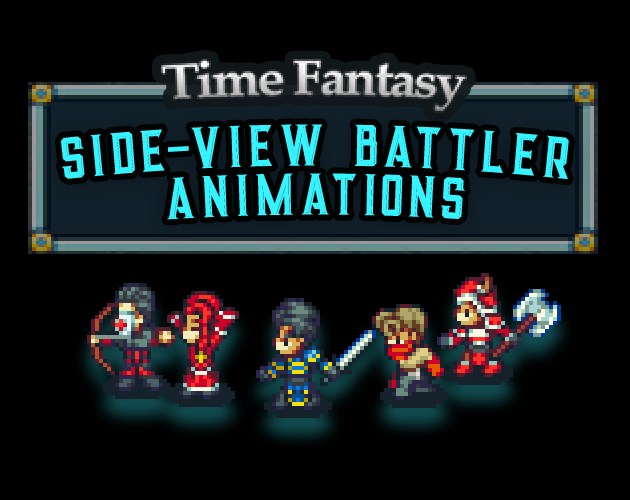 Side-View Animated RPG Battlers by finalbossblues